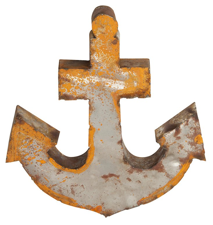 Recycled Metal Anchor
