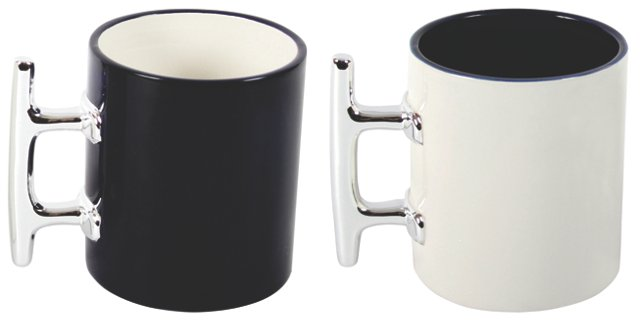 Asst. of 4 Nautical Cleat Handled Mugs