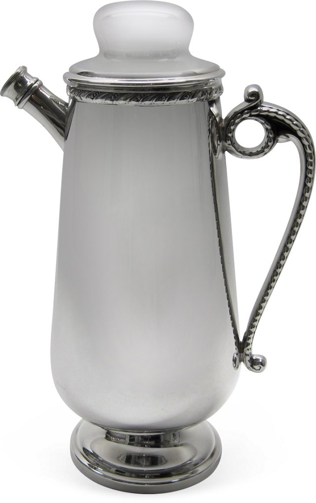 Silverplate Cocktail Shaker