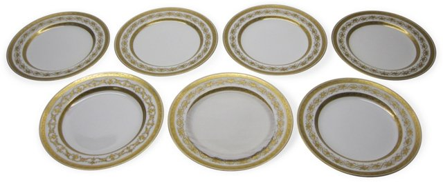 Dinner Plates by Minton's Ltd., Set of 7