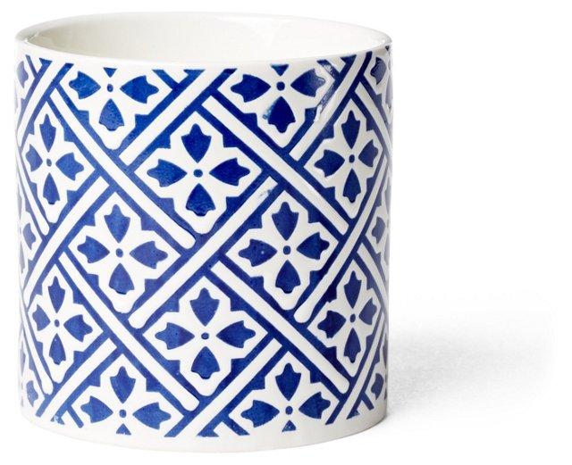 12.3 oz Deco Summer Candle, Blue Iris