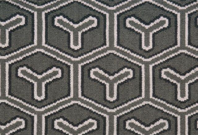 8'x10' Wyecomb Wool Rug, Gray
