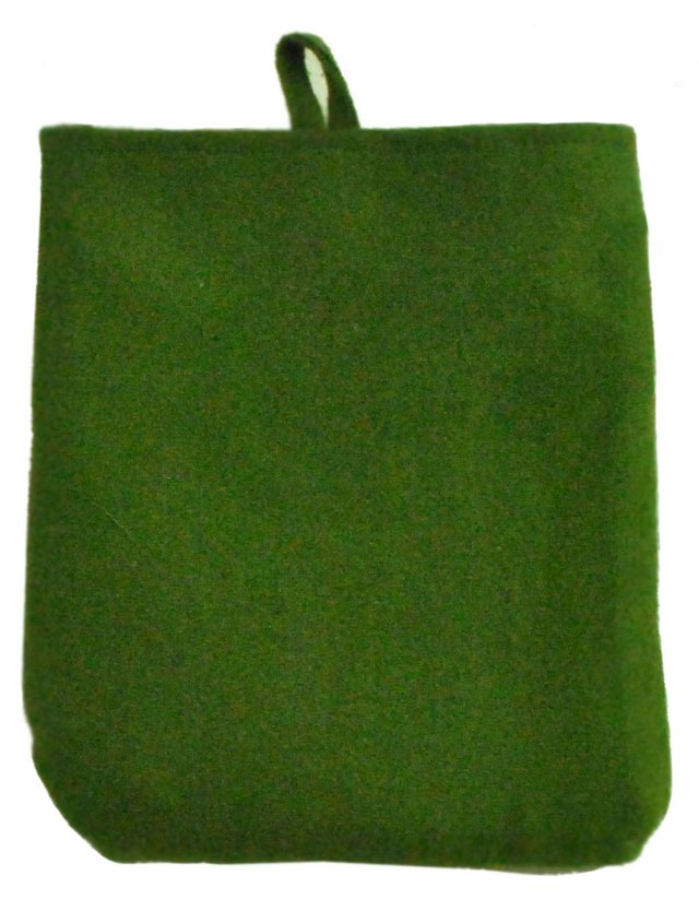 S/2 Olive & Cocoa Pot Holders