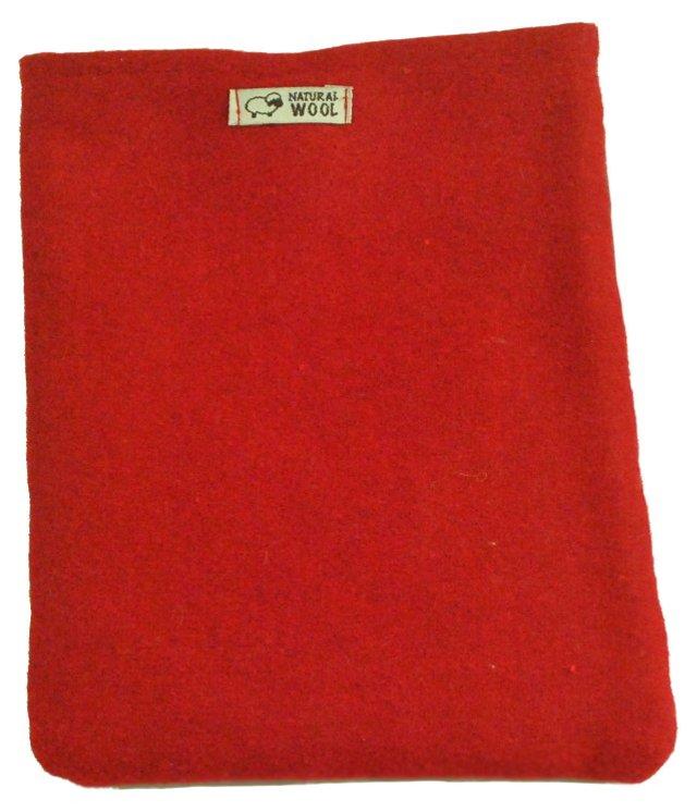 S/2 Red & Dark Gray Pot Holders