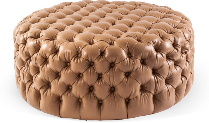 Large Tufted Ottoman