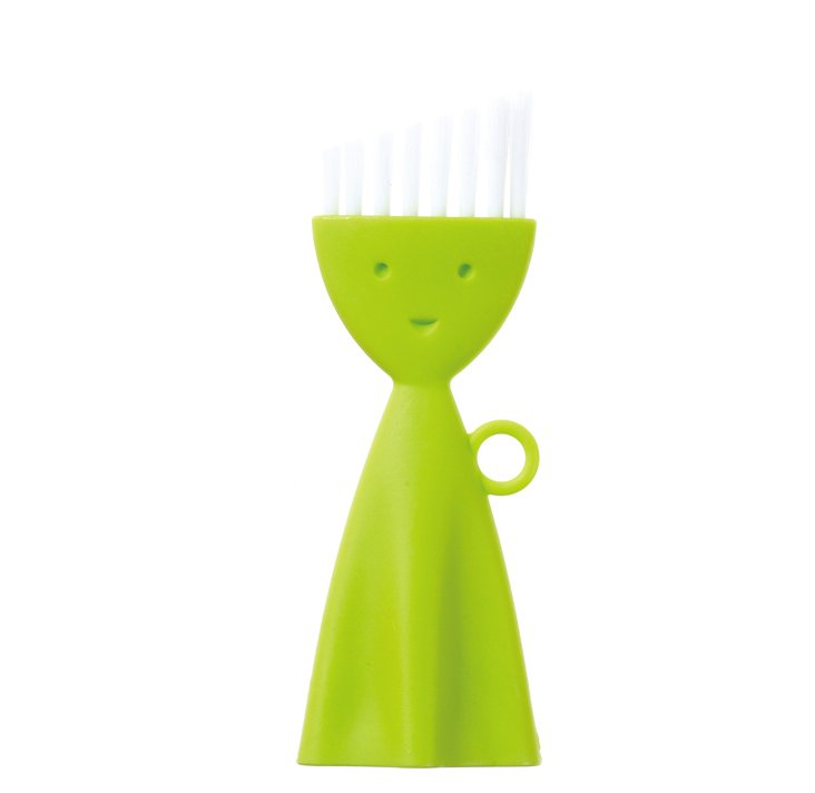 S/2 Corner Cleaning Brushes, Green
