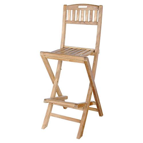 Altavista Folding Bar Chair