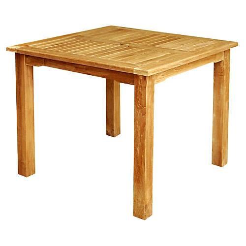 Bahama Square Table, Honey