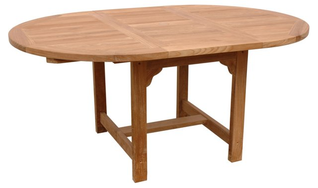 """67"""" Bahama Oval Extension Table"""