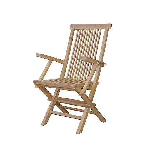 Bristol Outdoor Armchair, Natural