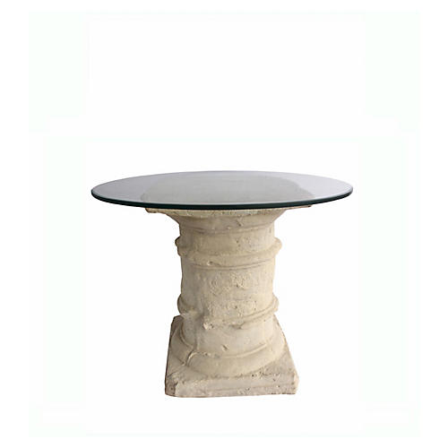 Etruscan Dining Table, Beige