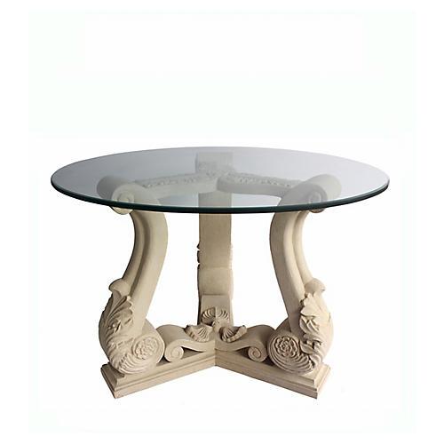 Fleur Dining Table, Beige