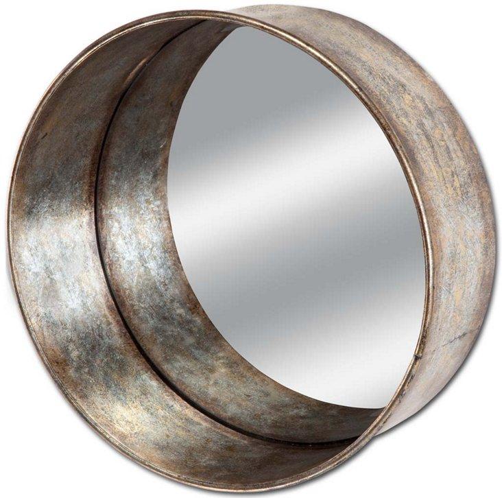Large Barrel Mirror