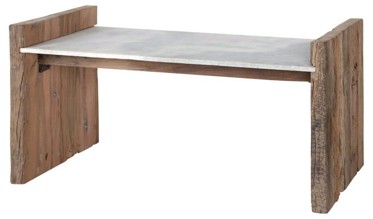 Hyde Marble Bench