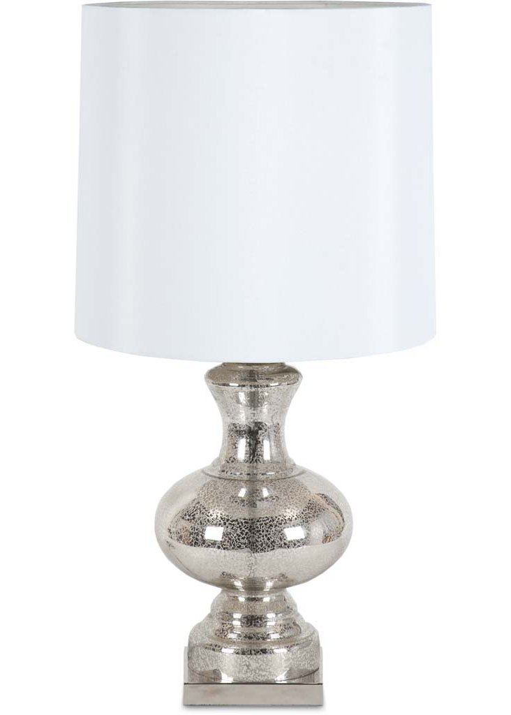 Waverly Table Lamp, Silver