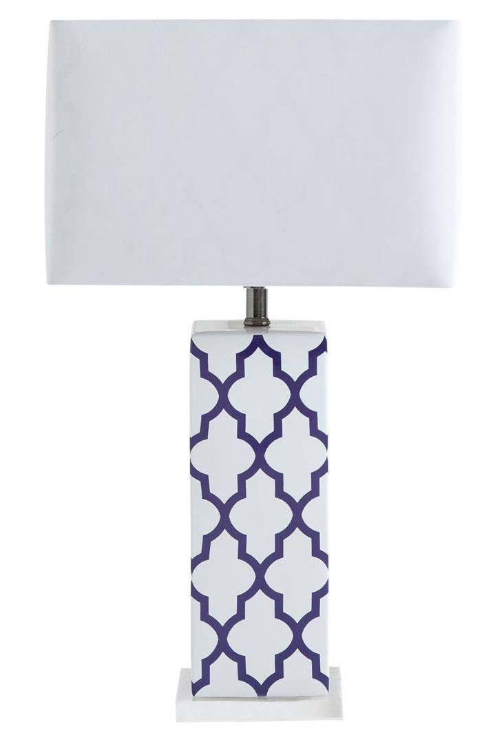 Hilly Table Lamp, Purple