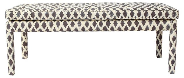 Tufted Pillow Top Bench