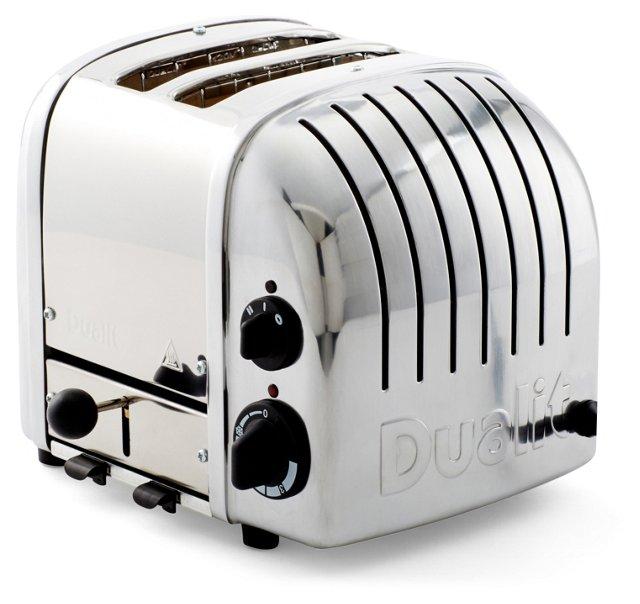 2-Slice NewGen Toaster, Silver