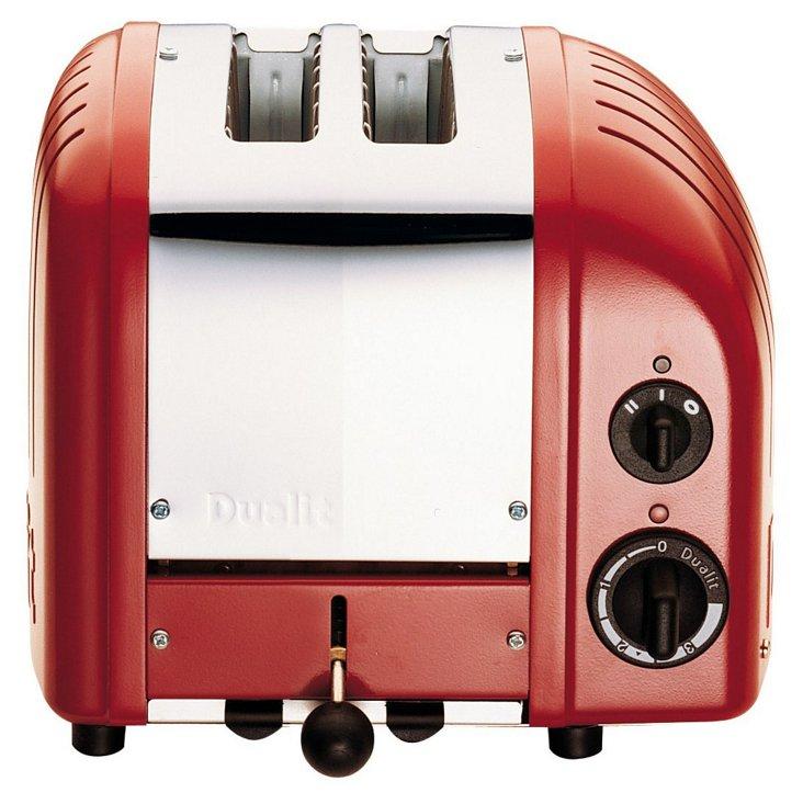 2-Slice NewGen Toaster, Red