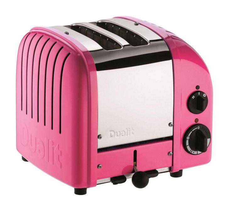 2-Slice NewGen Toaster, Pink