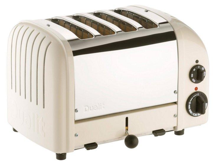 4-Slice NewGen Toaster, Cream