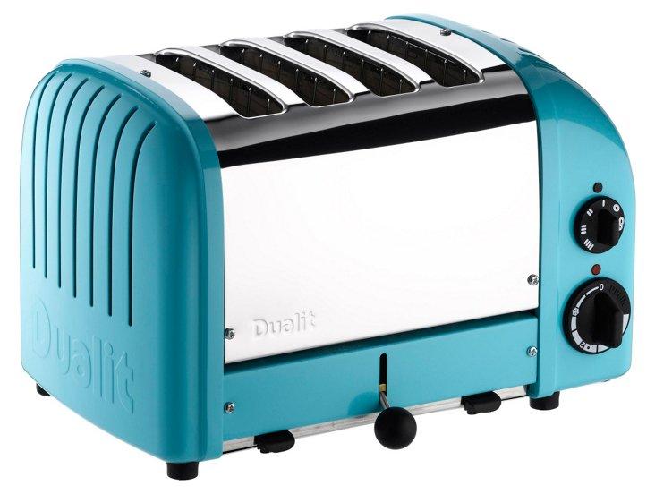 4-Slice NewGen Toaster, Blue