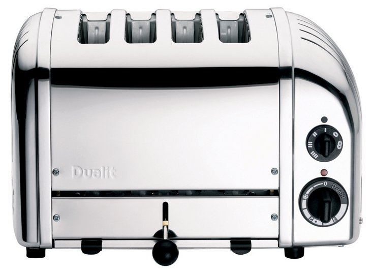 4-Slice NewGen Toaster, Chrome