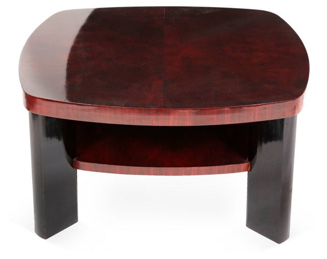 Art Deco Mahogany Coffee Table