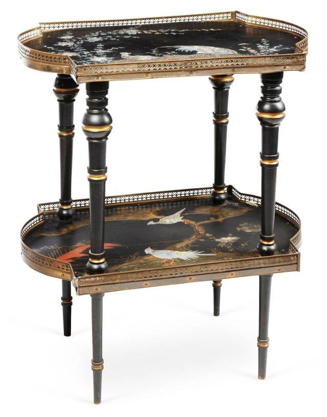 Victorian 2-Tier Table