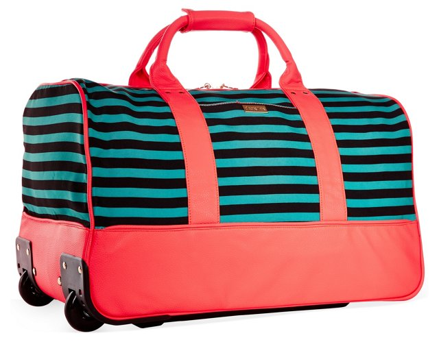 "22"" Raleigh Duffel, Orange/Navy"