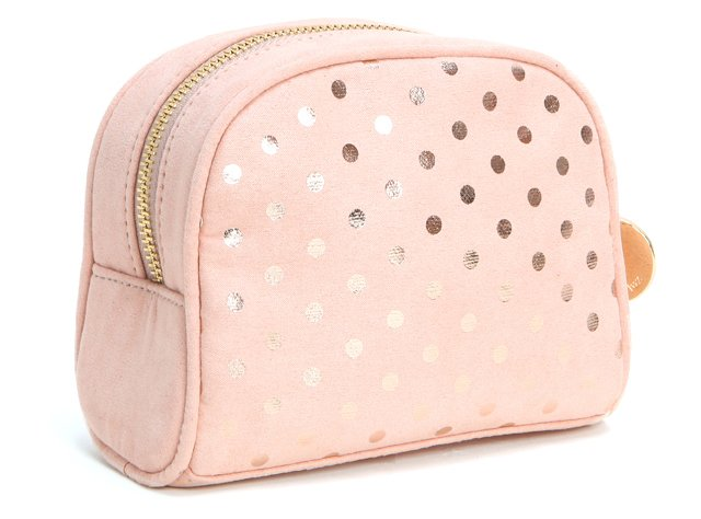 Dome Cosmetic Case, Peach