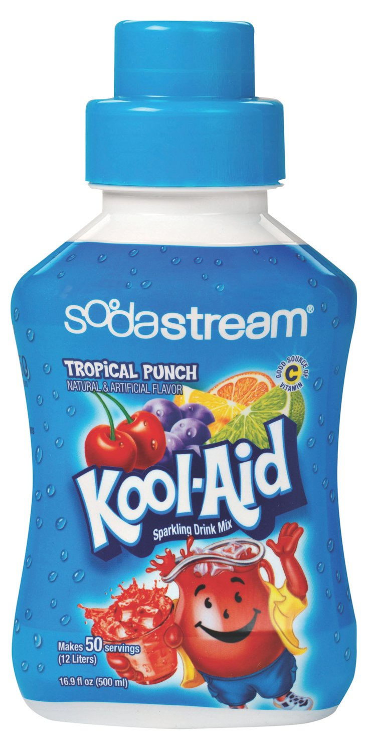 S/2 Kool-Aid Tropical Punch Syrups