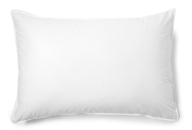 Cambric Down Pillow, Medium