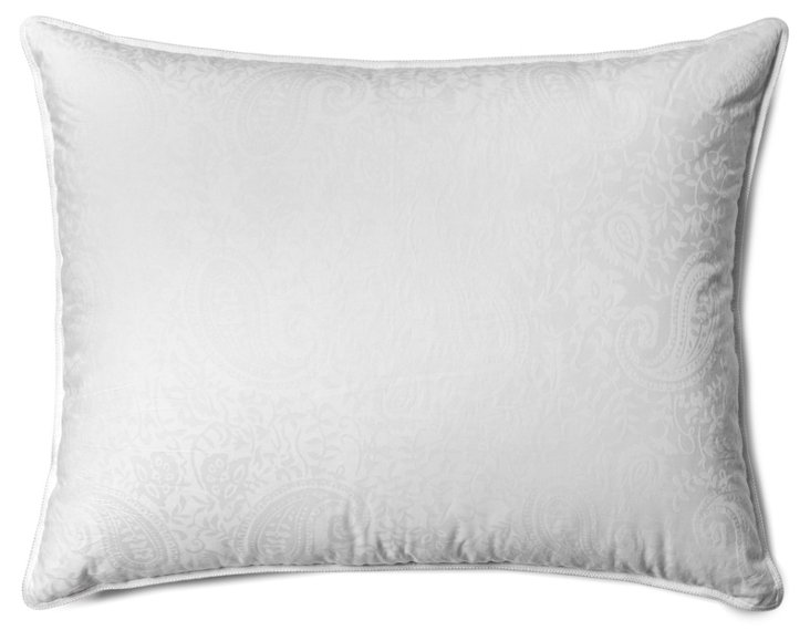 Paisley Down Pillow, Soft