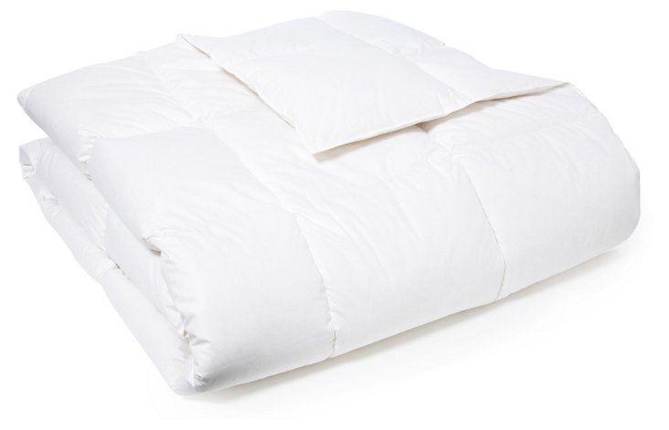 "12"" Sewn Box Stitch Comforter, Med Weight"