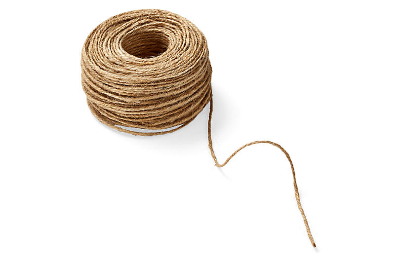 Twisted Burlap Ribbon, Natural