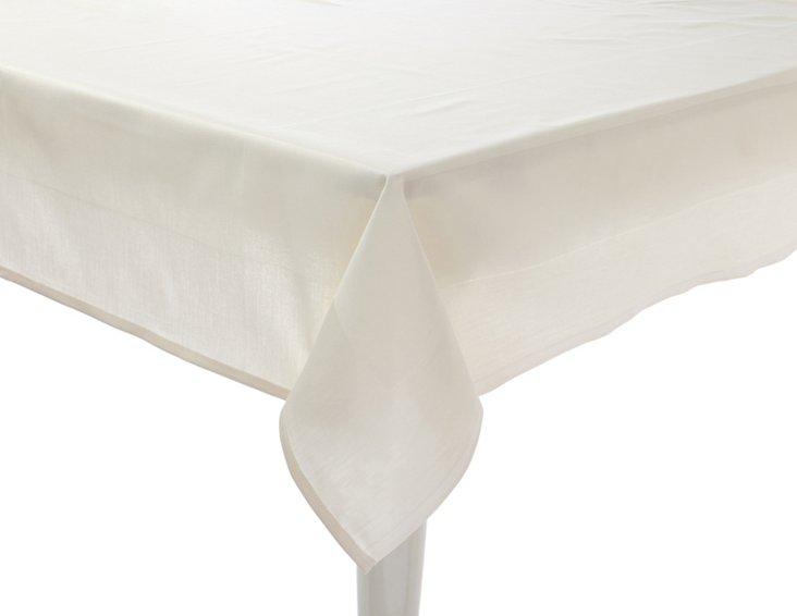 Satin Band Tablecloth, Champagne