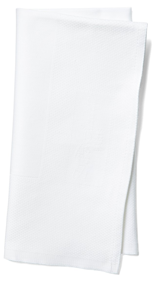 S/4 Granite Hotel Napkins, White