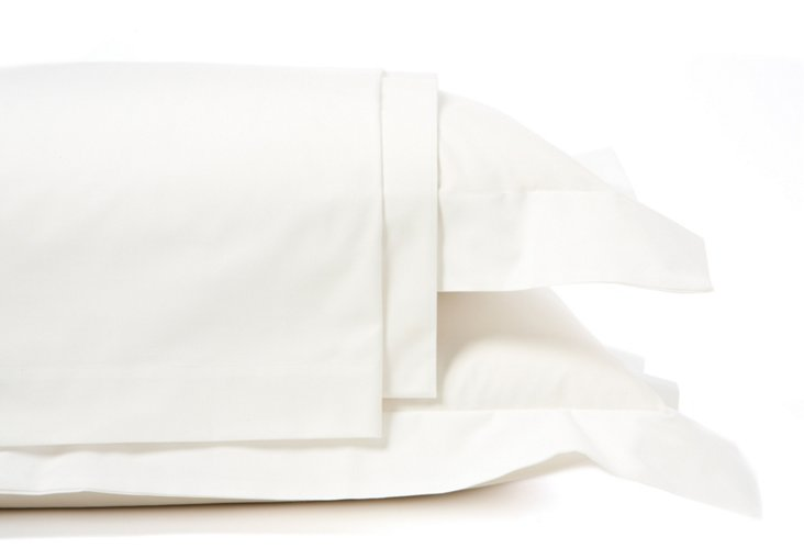 King Hotel St. Tropez Sheet Set, White