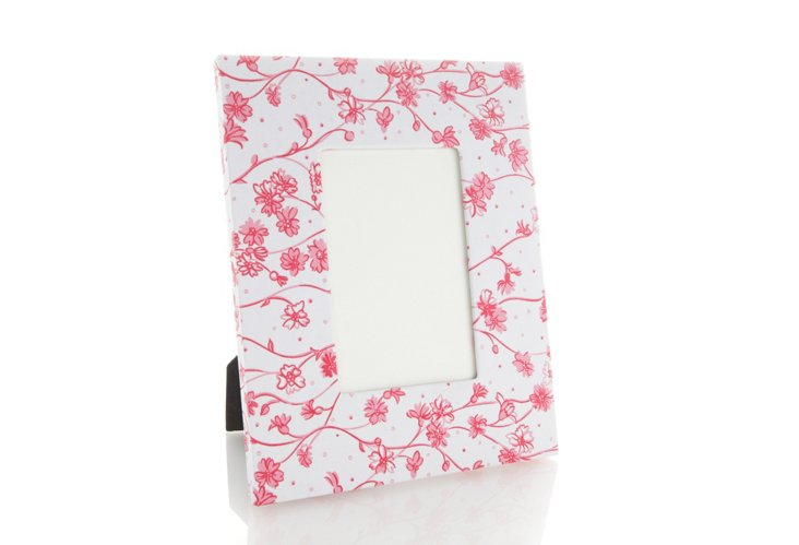 Frame,  Fleurettes Pink