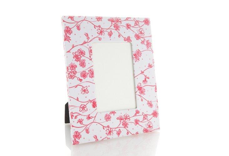 """5"""" x 7"""" Frame, Fleurettes Pink"""