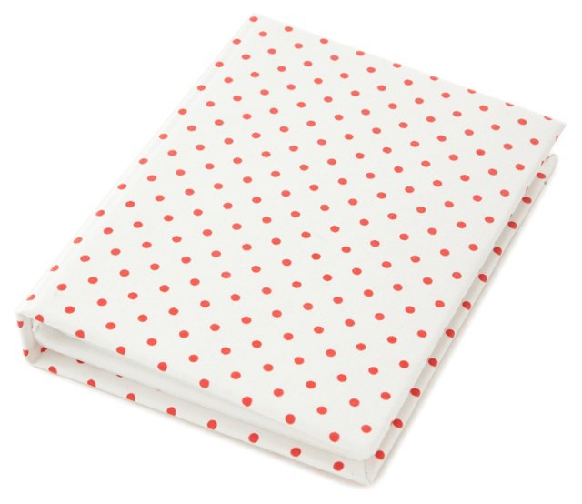 "4"" x 6"" Photo Album, Red Mini Dots"