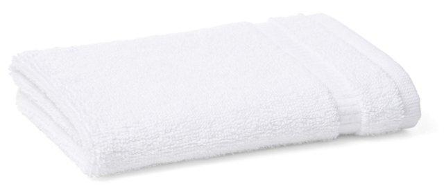 S/2 Madeleine Hand Towels, White