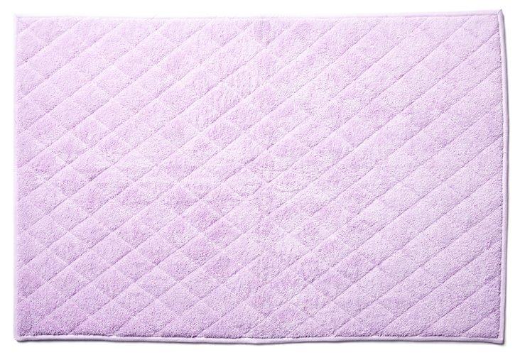 Liteau Quilted Bath Mat, Lavender