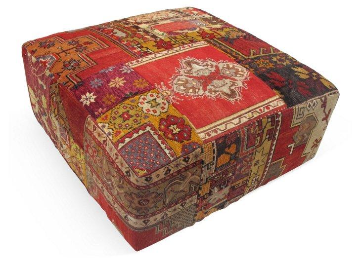 Anatolian Ottoman, Red/Gold/Multi