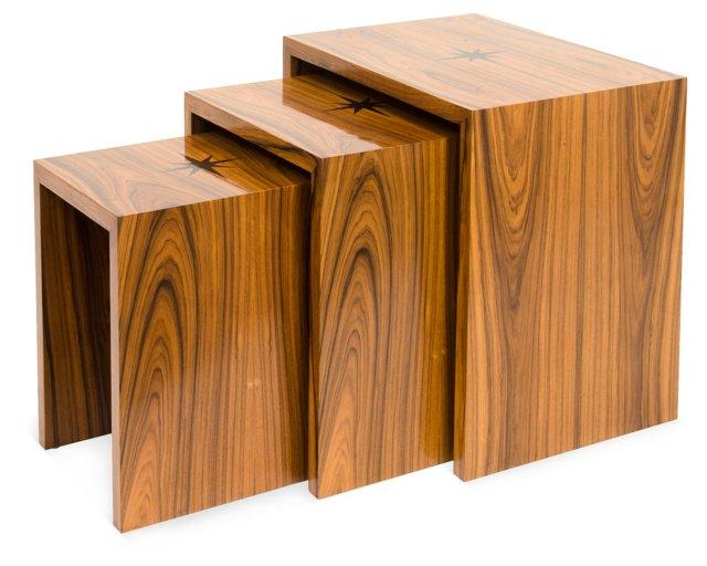Monaco Nesting Tables, Set of 3