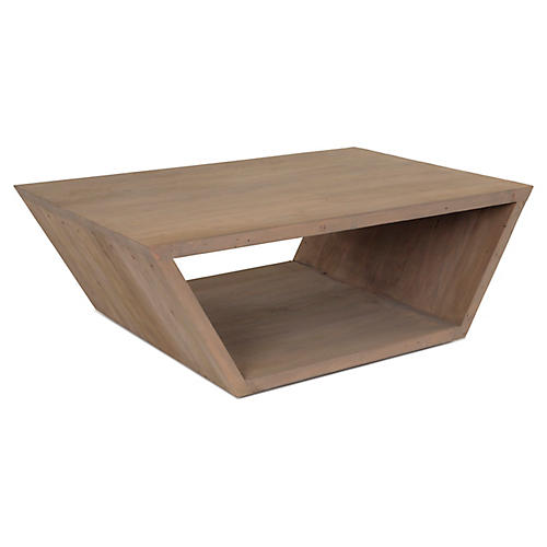 Edin Block Coffee Table, Natural