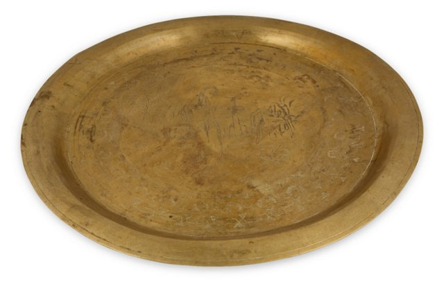 Heavy Brass Tray