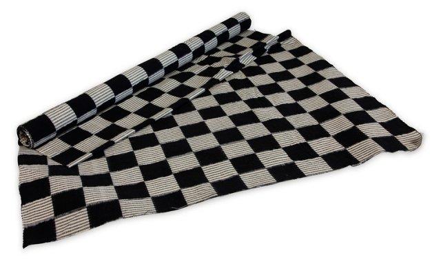 1980s Handmade Ikat Fabric