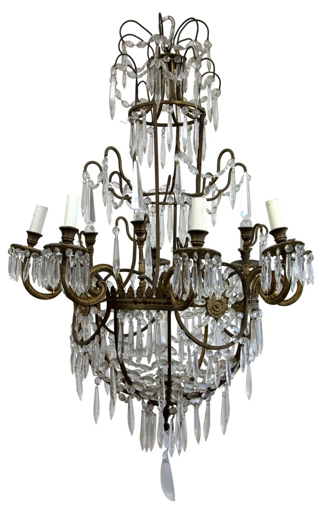 19th-C. French Chandelier